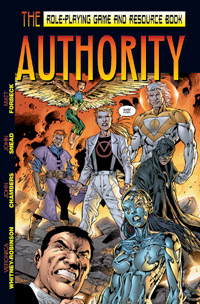 Cover of The Authority RPG